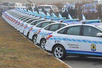 Entregaron los móviles a las distintas dependencias policiales de la provincia