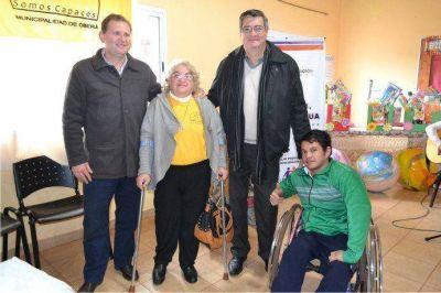 """Behler: """"Fomentamos la inclusión social de personas con discapacidad"""""""