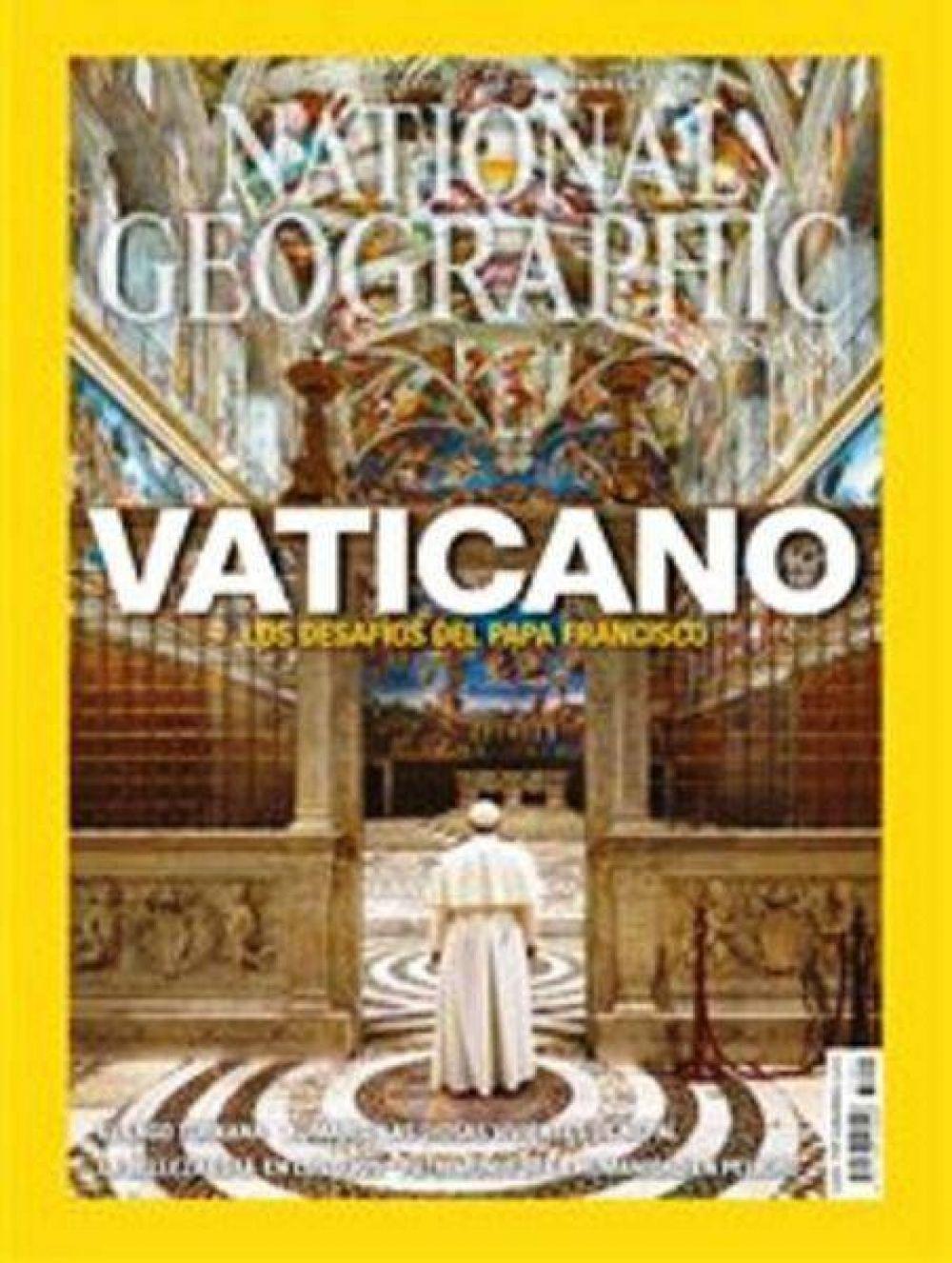 National Geographic dedica al Papa su portada de agosto