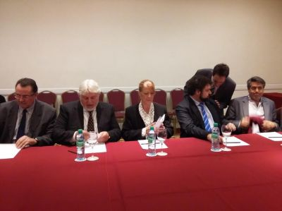 El Congreso Jud�o Latinoamericano recibi� a Margarita Stolbizer