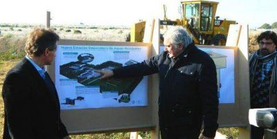 Comenzó la ejecución de la nueva estación depuradora de aguas residuales
