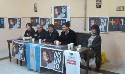 El Frente Renovador presentó su lista en Saldungaray