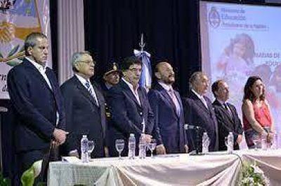 Insfrán y Sileoni inauguran este jueves el Segundo Congreso Pedagógico Provincial