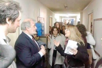Docentes de la Regional Sur de ATECH dialogaron con el ministro de Educación