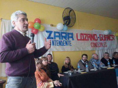 """Zara: """"Hoy nos convertimos en una opción de gobierno"""""""