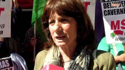 Vilma Ripoll visitó Balcarce