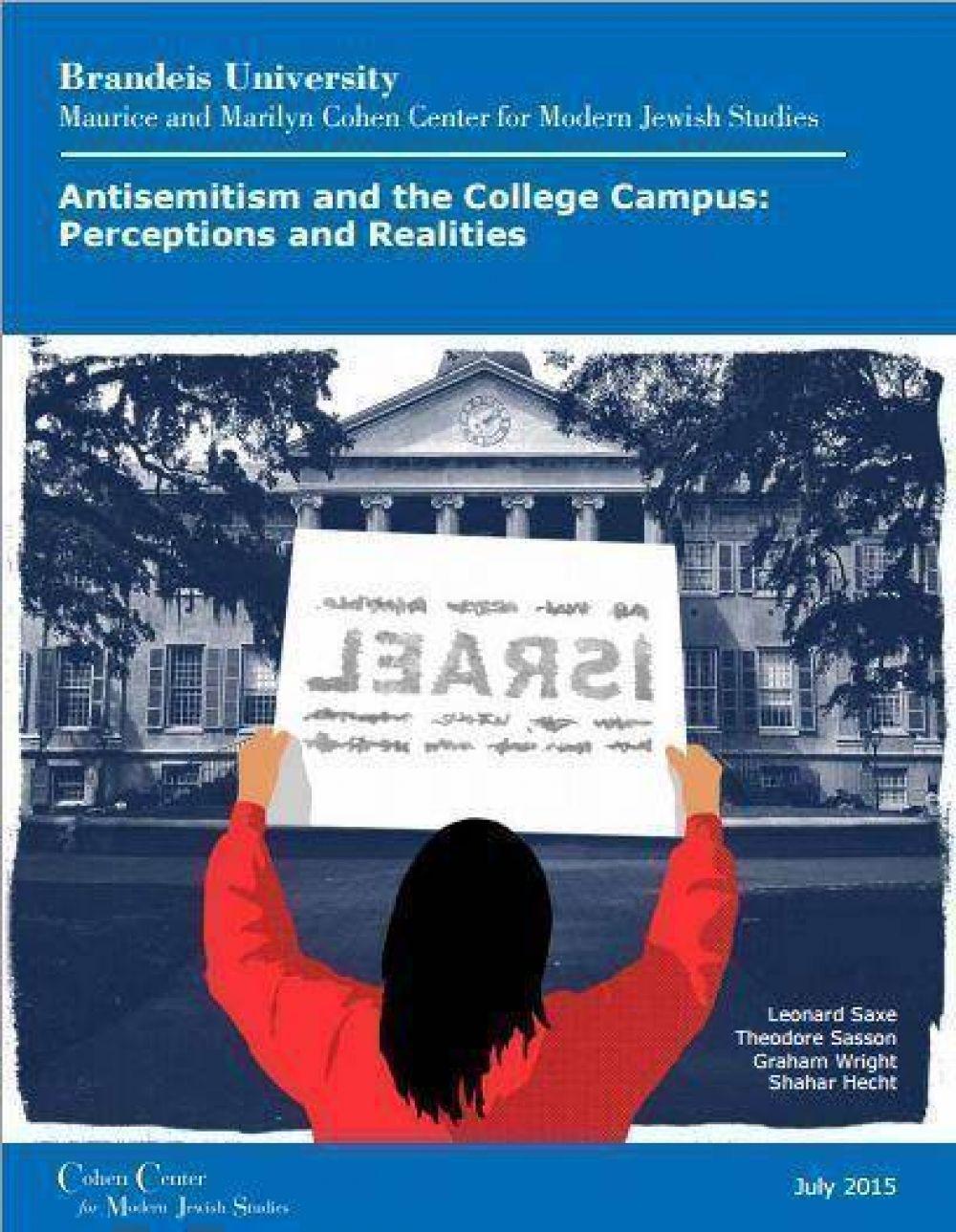 El 75% de los estudiantes universitarios judíos norteamericanos han sido víctimas del antisemitismo