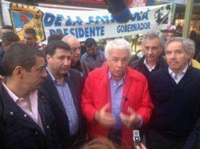 De la Sota, Solá y Queijeiro recorrieron Quilmes y Solano