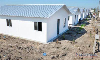 Etapa final de viviendas sociales en el Molina Punta