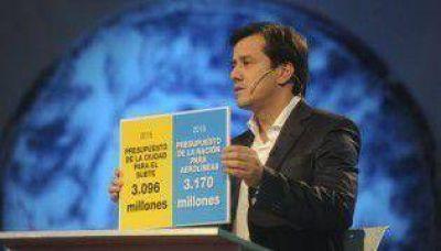 """Para Mariano Recalde, Clarín está """"alineado con el discurso de Macri"""""""