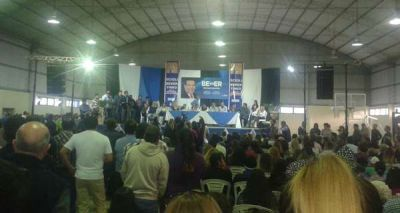 Beder Herrera cerr� una larga agenda en Los Llanos con un acto en Olta