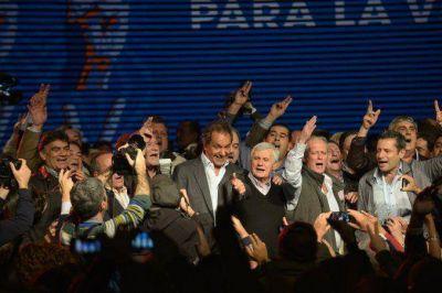 Qui�nes son los sindicalistas que dieron su apoyo a Scioli