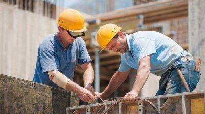 Repunta el empleo blanco en la construcción, pero sigue por debajo del récord de 2011