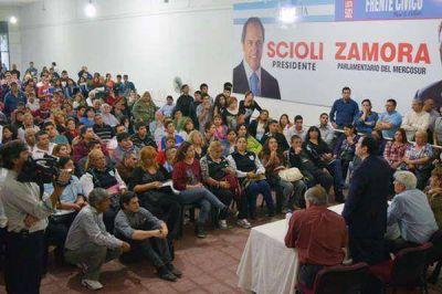 El Frente Cívico para la Victoria profundiza la tarea en apoyo a la fórmula Scioli-Zannini