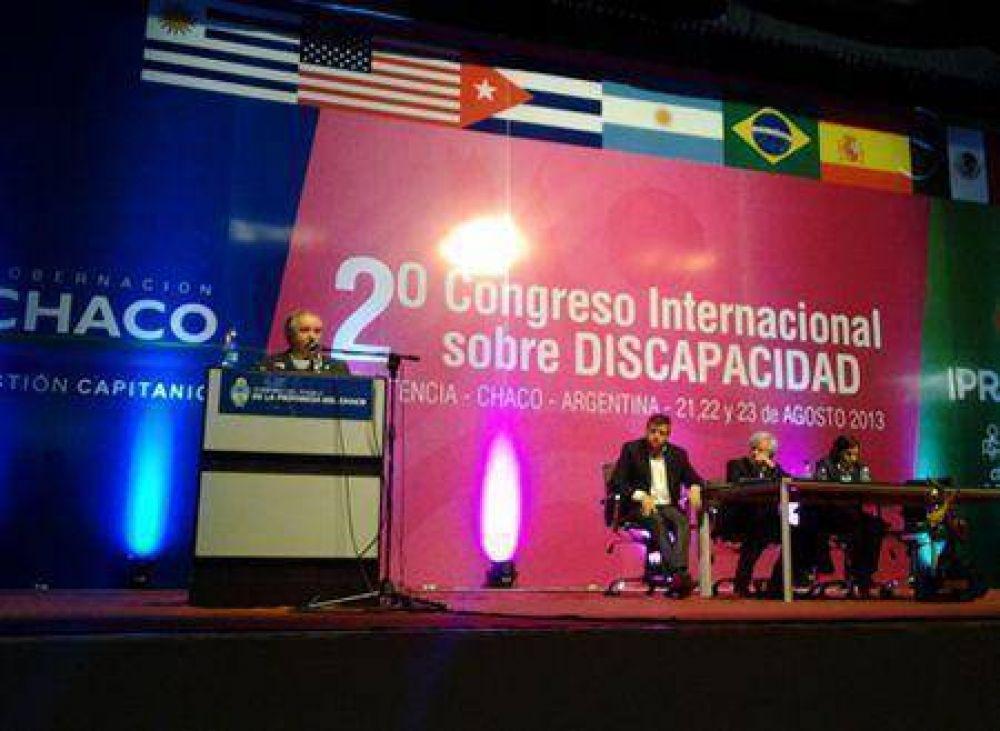 Schlosser disertará en el 3º Congreso Internacional de Discapacidad en Chaco