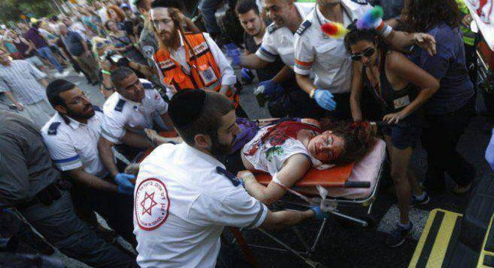Un judío ultraortodoxo vuelve a apuñalar a gays en la Marcha del Orgullo de Jerusalén
