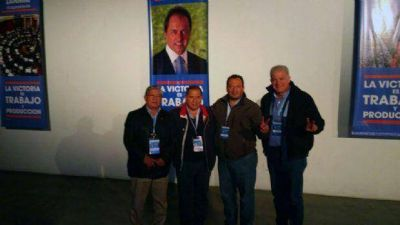 Sindicalistas salteños manifestaron su apoyo a la fórmula Scioli - Zannini