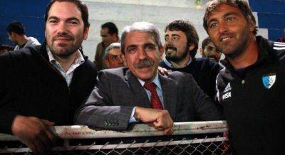 Aníbal le hace un guiño a La Cámpora después de la foto de Álvarez con Domínguez
