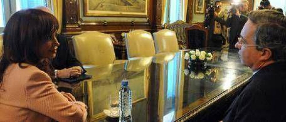 Cristina Kirchner se reunió con Uribe