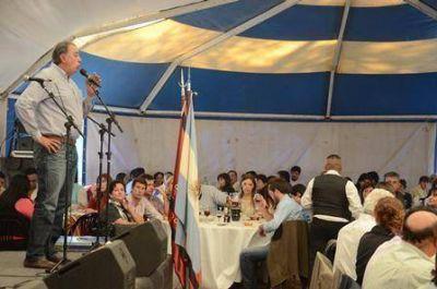 Rodolfo Urtubey participó de la 50ª Fiesta Provincial del Tabaco