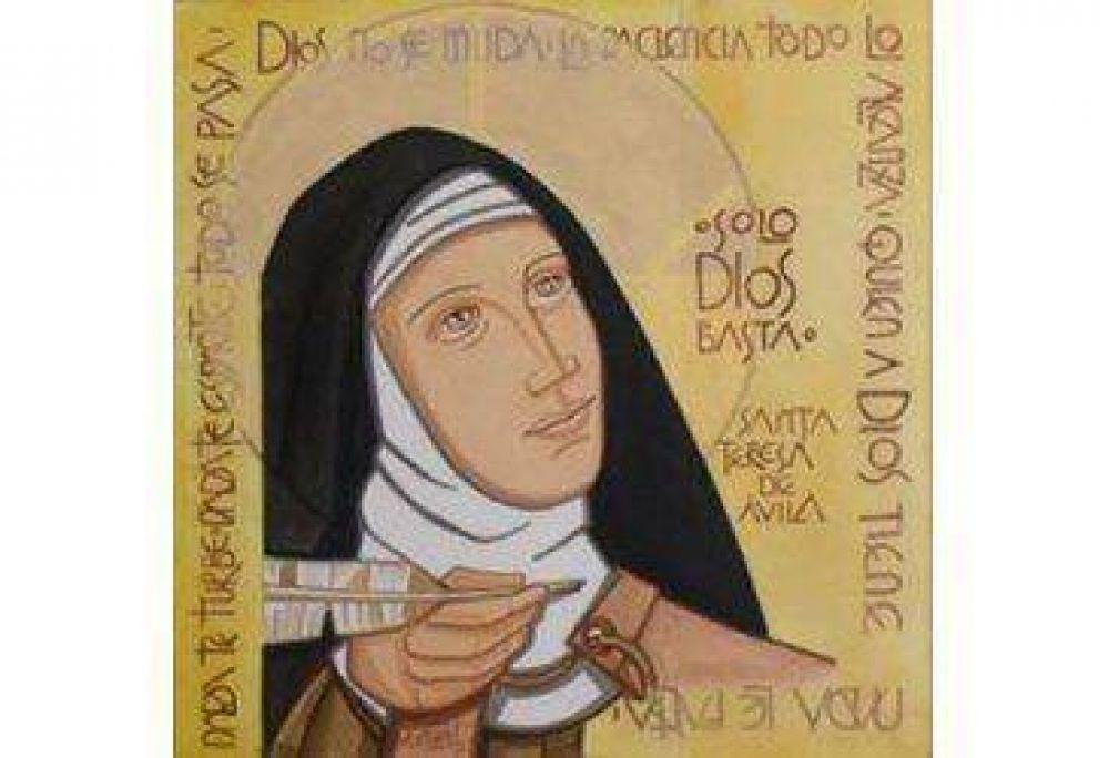 El Papa escribe un mensaje donde resalta los valores de Santa Teresa de Ávila