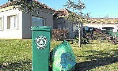 La separaci�n de residuos se expande: primeros containers para Santa Teresita