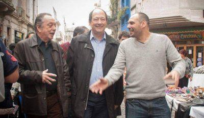 Sanz y Terragno de campaña por San Telmo