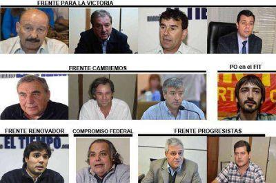 Las propuestas de los doce precandidatos a Intendente