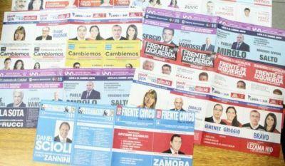 Santiagueños elegirán entre 17 propuestas electorales