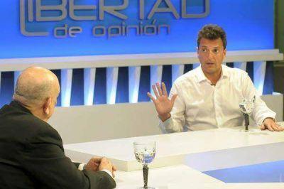 Fuertes críticas de Sergio Massa al oficialismo de Santiago del Estero