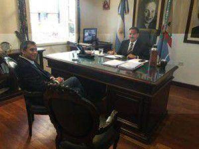 Alberto Paredes Urquiza agradeció a Quintela por el informe brindado