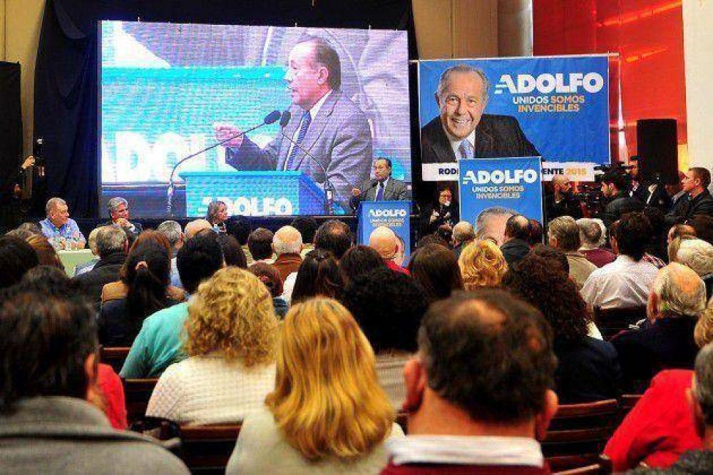 Adolfo Rodríguez Saá presentó la propuesta de Compromiso Federal en Río Cuarto
