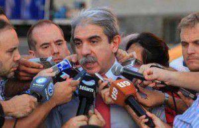 An�bal Fern�ndez denunci� penalmente a quienes lo vincularon con el triple crimen de General Rodr�guez