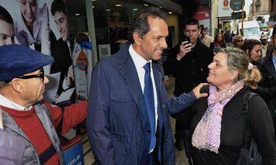 """En el tramo final hacia las Paso, Scioli volvió a apelar al """"voto útil"""" en Córdoba"""