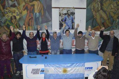 Concurrido acto del Frente Popular con la presencia de Víctor De Gennaro