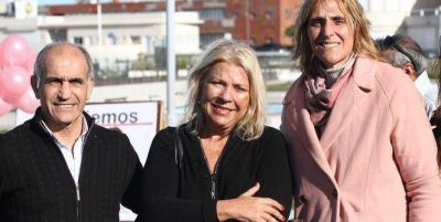 "Elisa Carrió: ""Vengo a Mar del Plata apoyar a Vilma Baragiola, mi única candidata a Intendente"""