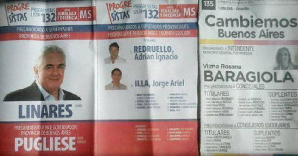 Libres del Sur denuncia acuerdo desleal e irregular entre Linares y Baragiola