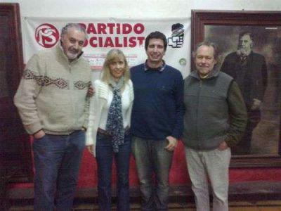 Candidatos del Frente Progresista visitaron Balcarce