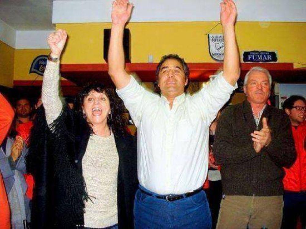 La fórmula Javier Caraballo – Marita Barrios se posiciona fuerte para las PASO