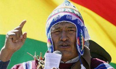 Bolivia: Morales fuerza las palabras del Papa