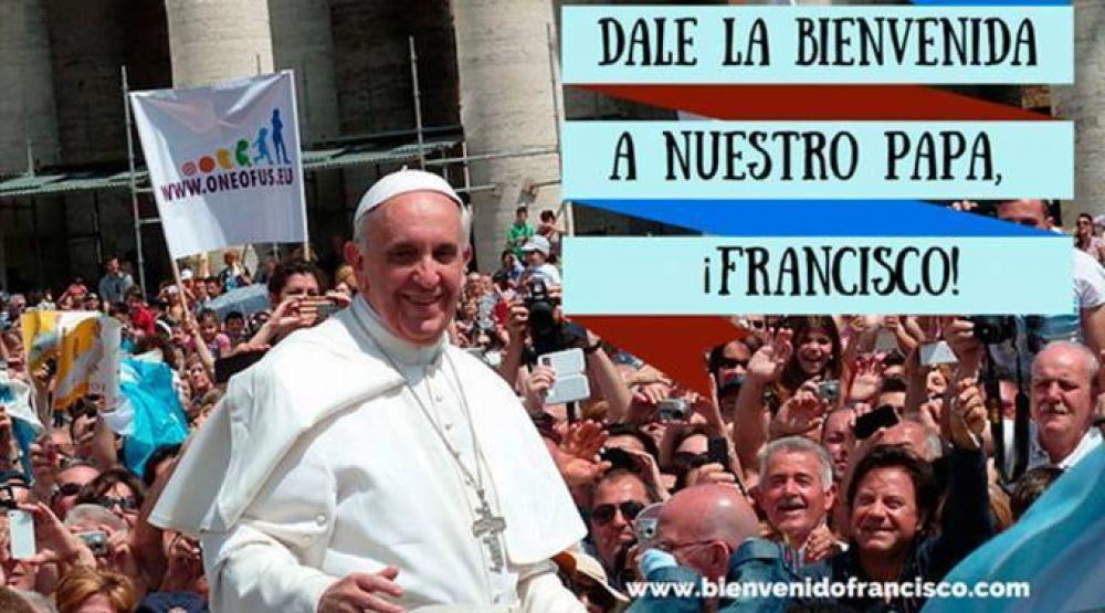 """Hispanos de Estados Unidos preparan """"abrazo"""" en redes sociales al Papa Francisco"""
