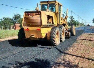 La pavimentación de la Avenida Pueyrredón registra un avance del 75 por ciento