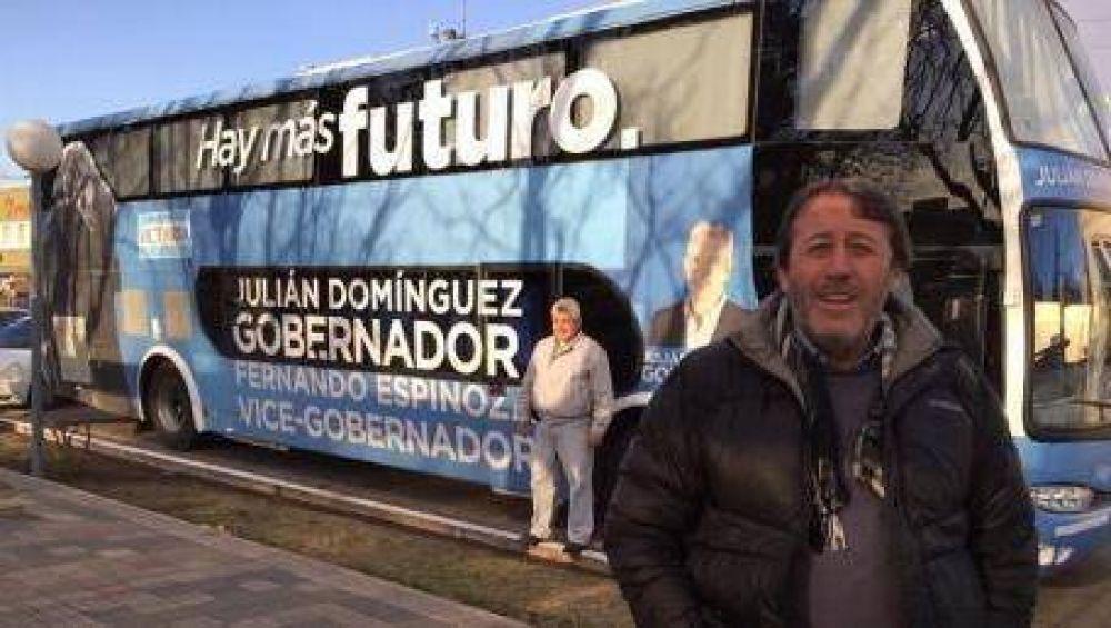 García lleva la campaña de Domínguez a la Cuarta