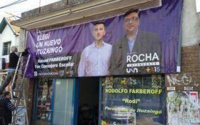 Denuncian vandalismo en local del Frente Renovador de Ituzaing�