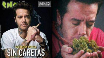 Sebastián Ortega, enamorado de la marihuana: