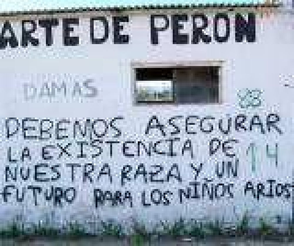 Entre Ríos: Realizaron pintadas nazis en Colonia Avellaneda