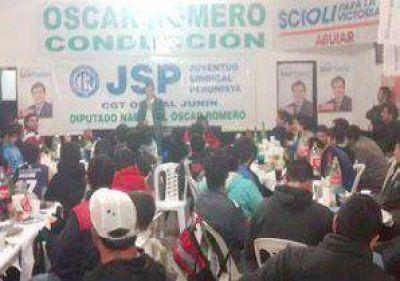 Más de 350 jóvenes juninenses apoyaron a Santiago Aguiar