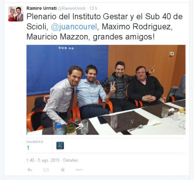 """""""Estamos trabajando para que la presidencia de Daniel sea la mejor de la historia argentina"""""""