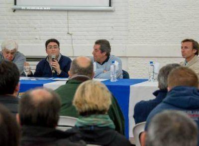 Pablo Bossio lanzó sus propuestas para el desarrollo del Deporte