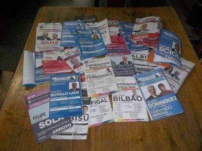 Precandidatos, entre cierres de campaña y entrega de boletas